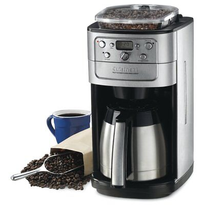 Cuisinart 12 Cup Automatic Coffeemaker w/Burr Grind & Brew Thermal - *DGB-900BC*