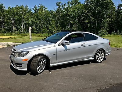 2012 Mercedes-Benz C-Class  Mercedes Benz c350 2012 AMG PACKAGE