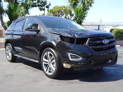2015 Ford Edge Sport AWD 2015 Ford Edge Sport AWD Wrecked Repairable Priced to Sell Export Welcome L@@K!