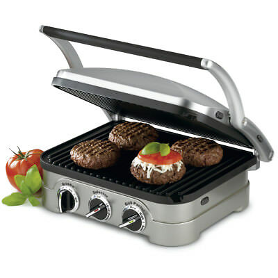 Cuisinart 5 in 1 Griddler - Grill/Panini Press/Flat Grill/Griddle - *CGR-4NC*