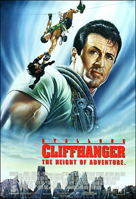 Cliffhanger Movie Poster Print - 1993 - Action - 1 Sheet Artwork - Stallone