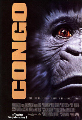 Congo Movie Poster Print - 1995 - Action - 1 Sheet Artwork