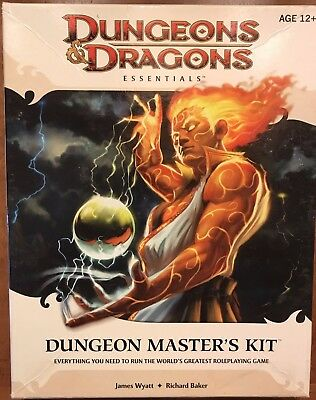 Dungeons and Dragons D&D Essentials Dungeon Master's Kit Boxed Set 4E Complete