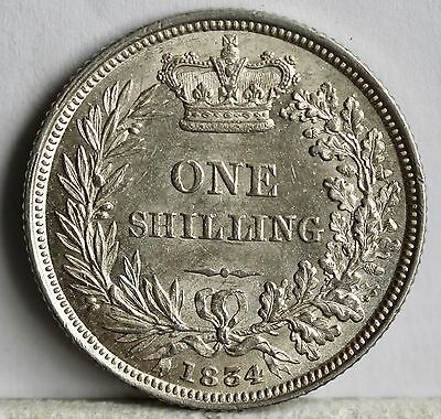 William IV Silver Shilling, 1834, aUNC, ESC 2489