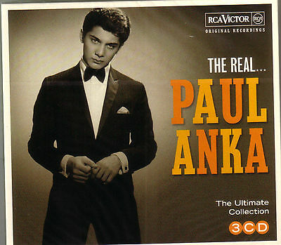 3 CD (NEU!) . Best of PAUL ANKA (Diana Lonely Boy Put your head  on my 48 Titel