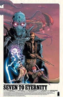 Seven To Eternity #1 Cover Print Poster Image Expo 2016 Remender Opena Signed