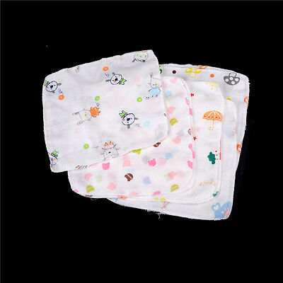 10PCS Baby Feeding Towel Small Handkerchief Gauze Towels Nursing Towel TB