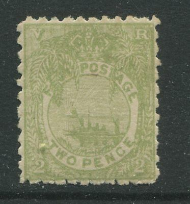 Fiji QV 1893 2d green mint o.g.