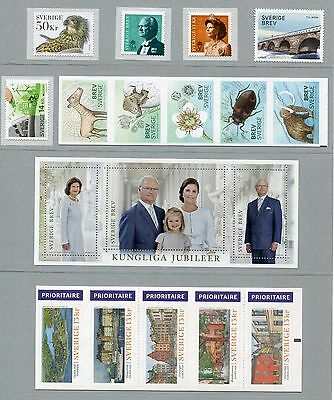 Sweden 2016 Post Office Yearpack Year Set NH Mint Official