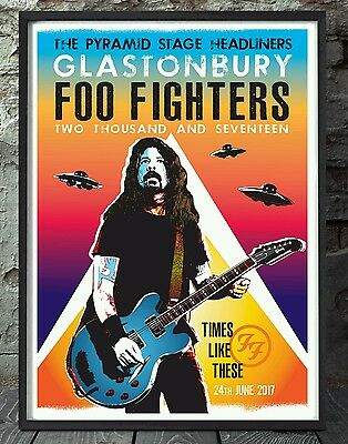 Foo fighters music print. Specially created.