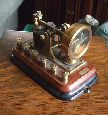 highly unusual Western Electric Co brass telegraph repeating sounder ?