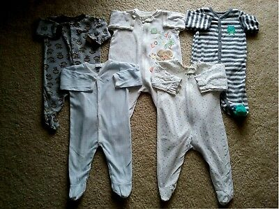 Baby Boy 3 3/6 Months cotton Sleeper Pajama Clothes Lot Free Shipping