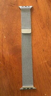 Genuine Apple Watch Band - 42mm Stainless Steel Milanese Loop - ORIGINAL OEM