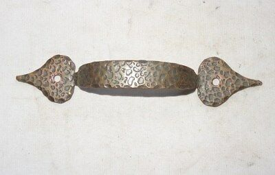 Set of 8 Vintage Rustic Farmhouse Hammered Copper Style Cabinet Drawer Handles