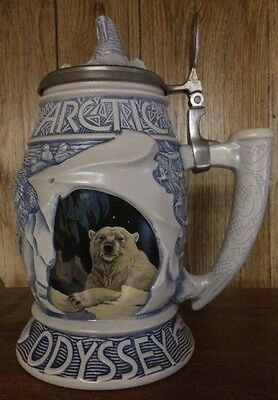 ARCTIC ODYSSEY STEIN Created For Avon by Ceramarte  & Designed by Tom O'Brien