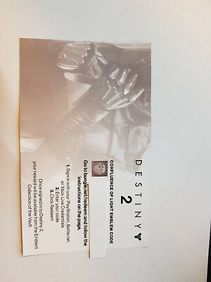 Destiny 2 - Confluence of Light Emblem Code - Gamescom 2017