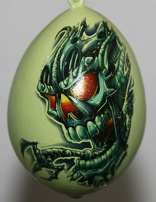 halloween gourd ornament with zombie