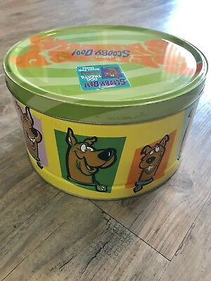 SCOOBY DOO Snacks Tin ~  Dog Treats ~ Very Rare Hard-To-Find