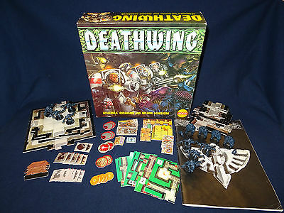 Space Hulk Deathwing Expansion 1st Edition Complete, Unpainted Games Workshop