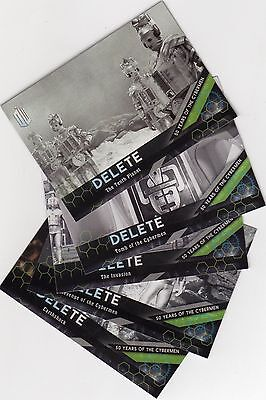 Doctor Who Topps 4 full sets trading cards - 2015, Timeless & Extraterrestrial +
