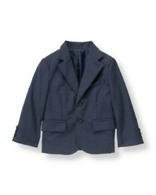 Janie and & Jack Special Occasion 6 NEW Formal Blazer Jacket Navy Blue $119 NG1