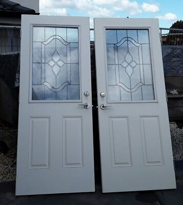 Brand new doors, real leadlight triple glazed, new double deadlock and keys,