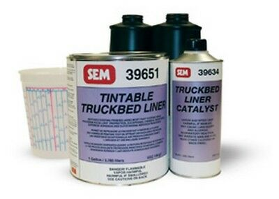 Tintable Truckbed Liner Kit SEM-39650 Brand New!