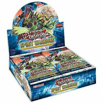 PREORDER YU-GI-OH! TCG Spirit Warriors Booster Box Includes 24 Booster Packs