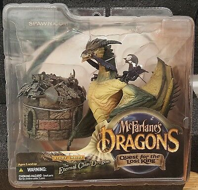McFarlane Dragons Quest For The Lost King Series 1: Eternal Dragon Clan Figure