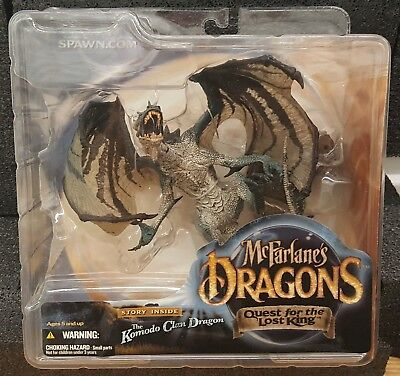 McFarlane Dragons Quest For The Lost King Series 1: Komodo Dragon Clan Figure