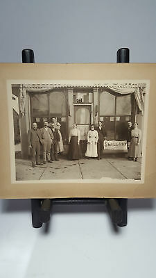Vaccination Strange Odd Medicine Antique Smallpox Photo Alma Michigan