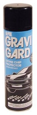 Gravi-Gard Stone Chip Aerosol, Black UPL-UP0731 Brand New!