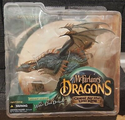 McFarlane Dragons Quest For The Lost King Series 1: Water Dragon Clan Figure