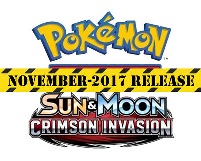 POKEMON TCG Sun & Moon Crimson Invasion Checklane Blister Gigalith