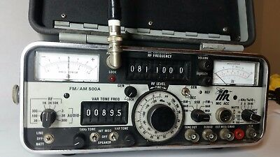 IFR AM/FM 500A Communications Monitor fully functional tested. Ham Radio equip