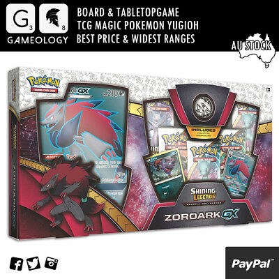 POKEMON TCG Shining Legends Special Collection Zoroark GX Box