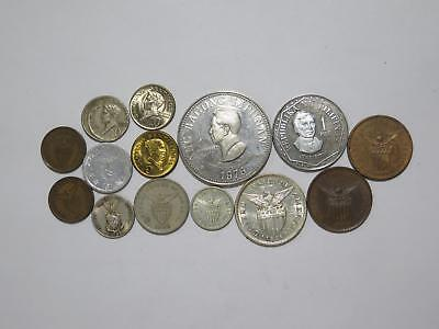 Philippines Piso Centavos Error Culion Leper Mixed Type Old Coin Collection Lot
