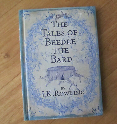 J.K.ROWLING ~ THE TALES OF BEEDLE THE BARD ~ Harry Potter - Hard Cover