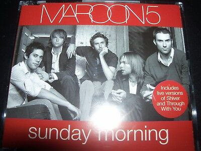 Maroon 5 Sunday Morning CD Single – Like New