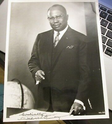 William R. Tolbert Jr. Signed Photo...President Liberia...Killed In  coup d'état