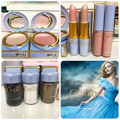 Mac Cosmetics Limited Edition Cinderella Collection - Bnib
