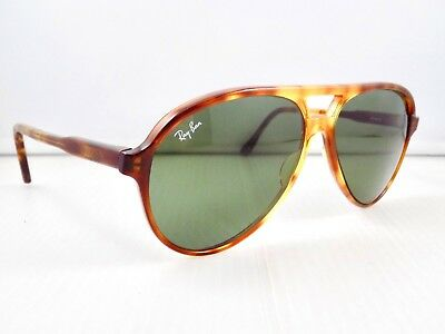 90's Ray Ban Traditionals Style A Cats 5000 Aviator B&L L1670 Sunglasses & Case