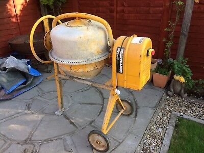 ****** Cement Mixer / Concrete Mixer / Electric Working ******