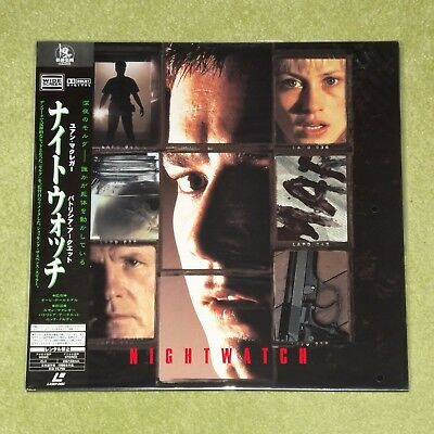 NIGHTWATCH - RARE 1999 NEW/SEALED JAPAN LASERDISC + OBI (Cat No. PILF-7391)