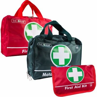 70Pc First Aid Kit Bag/Pouch Small Large Medical Emergency Work Travel Camping