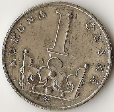 CZECH REPUBLIC,  1 Kuruna 1994