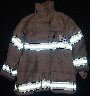 44x35 Firefighter Jacket Coat Bunker Turn Out Gear Globe Gxtreme  J441