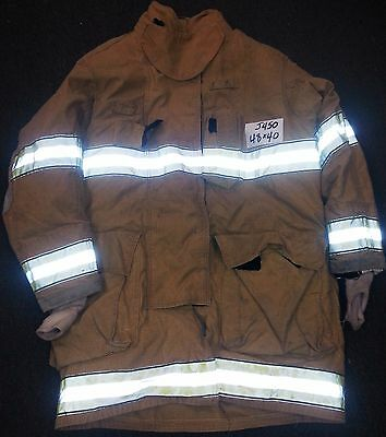 48x40 Firefighter Jacket Coat Bunker Turn Out Gear Globe Gxtreme  J450