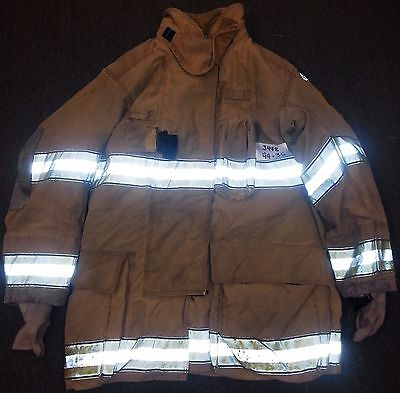 "44x35 Firefighter Jacket Coat Bunker Turn Out Gear Globe Gxtreme  J448 ""Rescue1"""