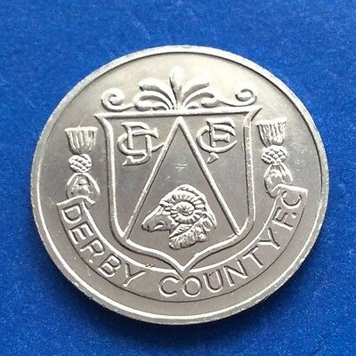 Derby County Fa Cup Centenary  (1872  - 1972 ) Esso Coin / Medal